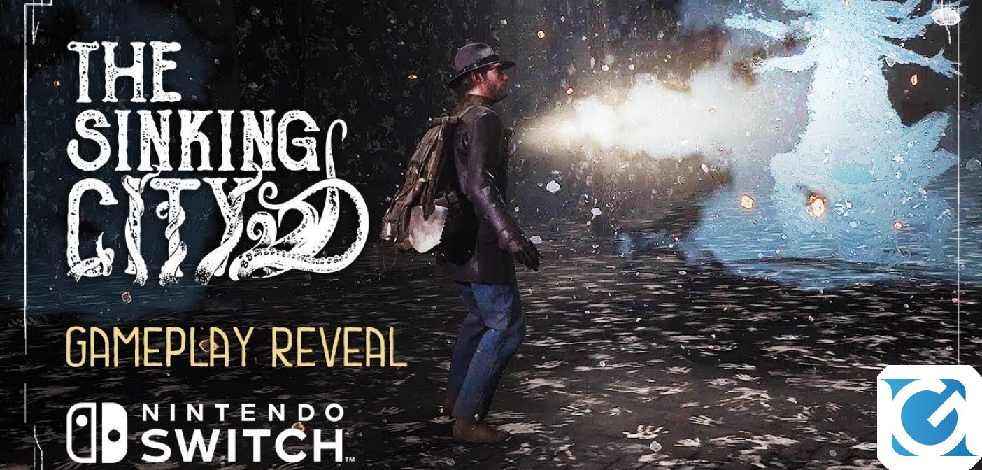 Rivelato un nuovo gameplay trailer per The Sinking City per Nintendo Switch