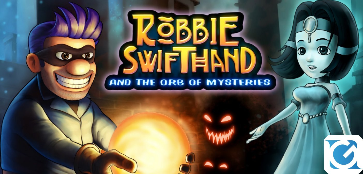 Robbie Swifthand and the Orb of Mysteries arriva su Switch il 1 agosto