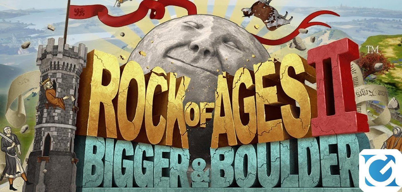 Rock of Ages 2: Bigger & Boulder arriva su Nintendo Switch il 14 maggio