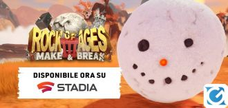 Rock of Ages 3: Make & Break arriva su Google Stadia oggi