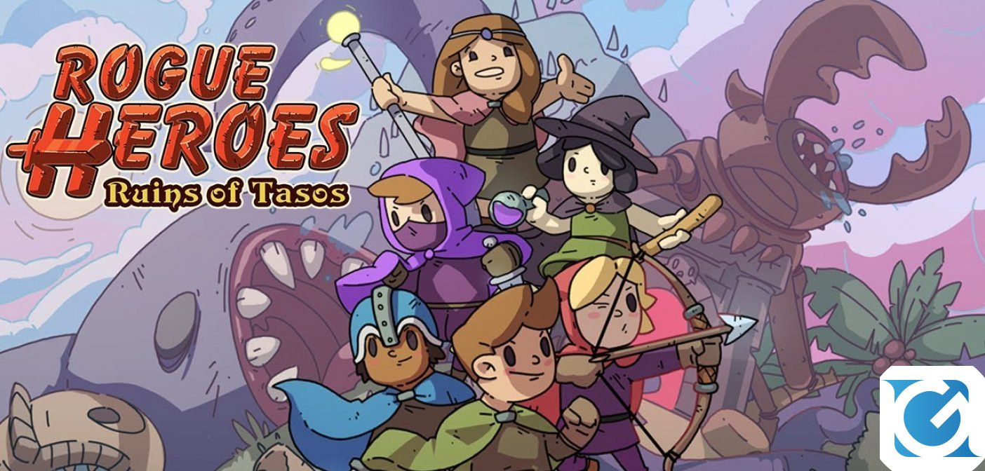 Rogue Heroes: Ruins of Tasos arriverà su Switch questa estate