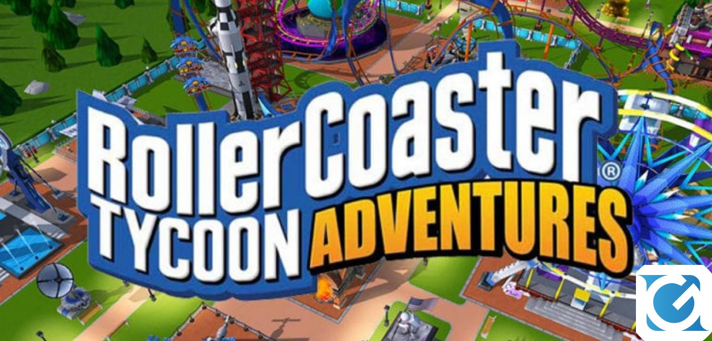 RollerCoaster Tycoon Adventures è disponibile per Switch