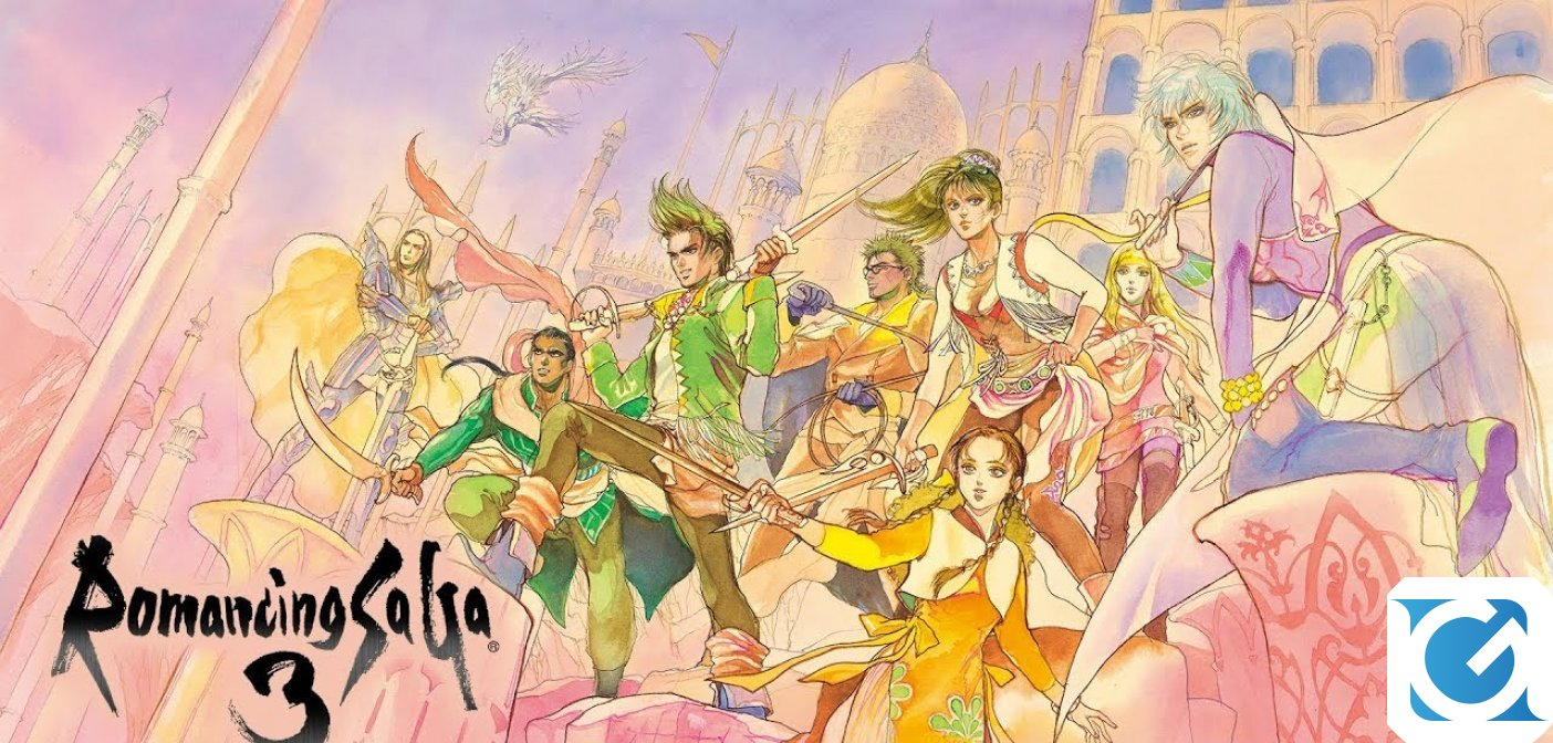 Romancing SaGa 3 e SaGa SCARLET GRACE: AMBITIONS arrivano in occidente