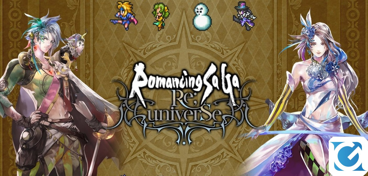 Romancing saga re;universe è in fase di soft launch in Canada, in Italia e a Singapore