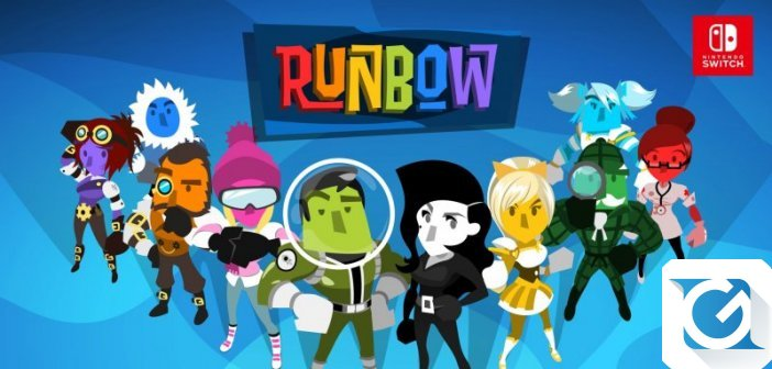 Runbow: disponibile il pre-order per Switch e Playstation 4