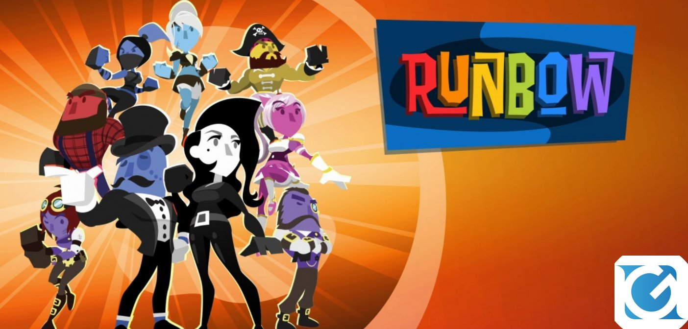 Runbow Deluxe Edition: disponibile l'edizione retail per Playstation 4 e Nintendo Switch