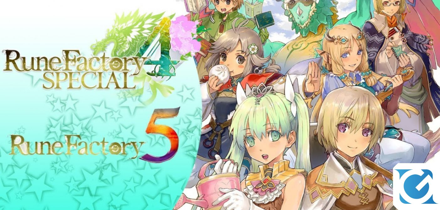 Rune Factory 4 Special Archival Edition annunciato per Switch