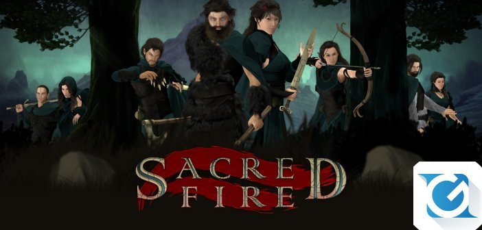 Sacred Fire e' stato accettato in Steam Greenlight