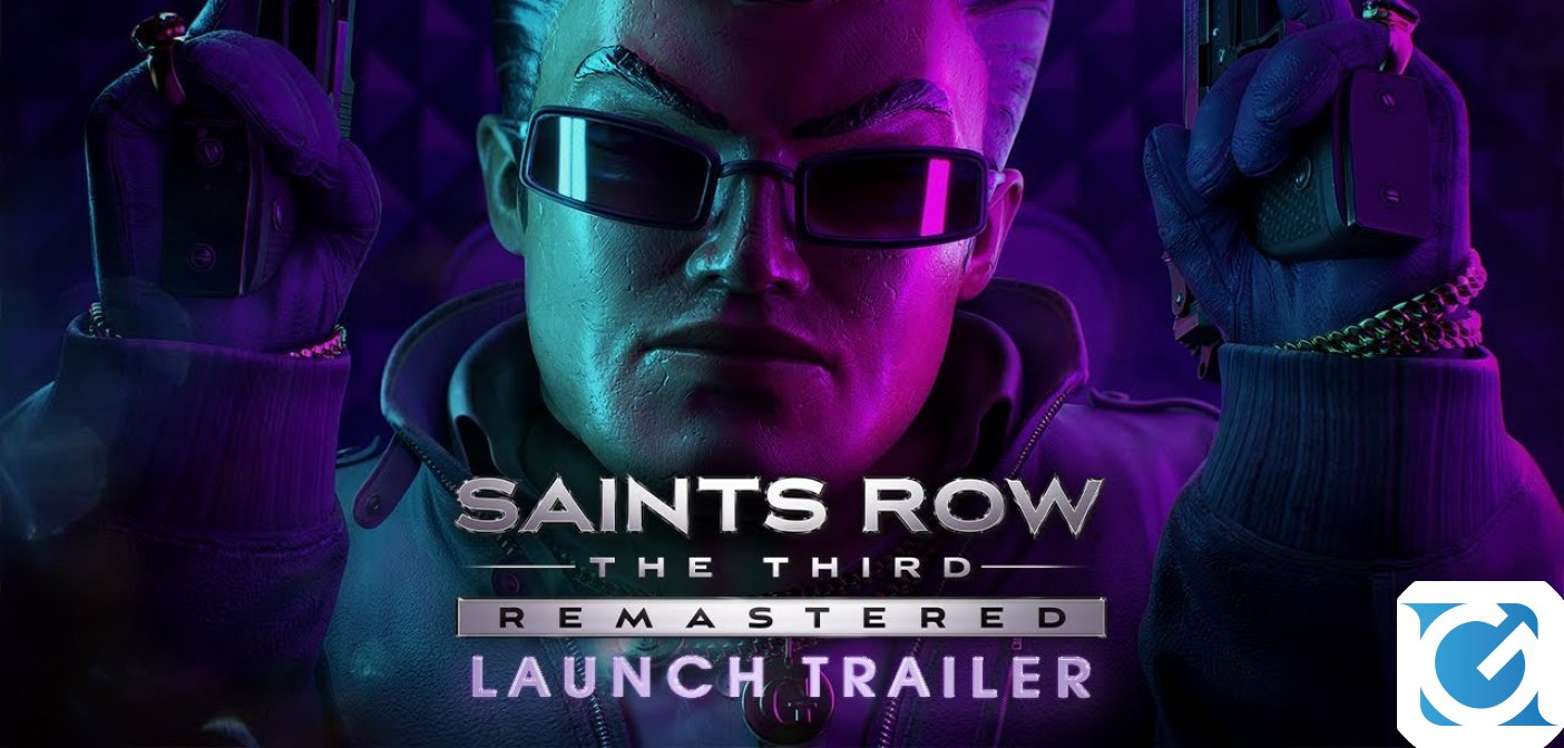 Saints Row The Third remastered è disponibile