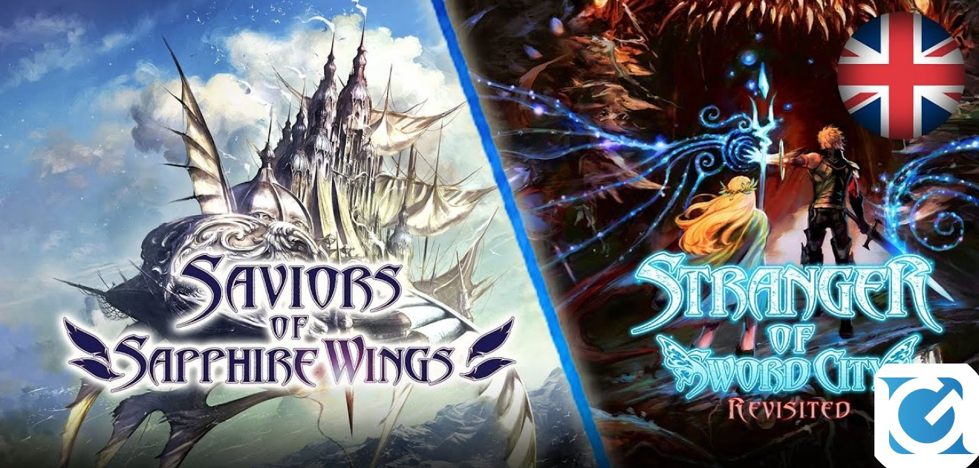 Saviors of Sapphire Wings e Stranger of Sword City Revisited  annunciati per Switch e PC, arriveranno nel 2021
