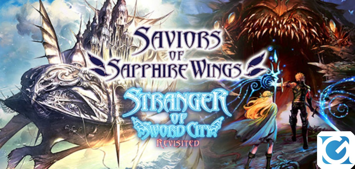 Saviors of Sapphire Wings e Stranger of Sword City Revisited arrivano a marzo 2021 su Switch e PC