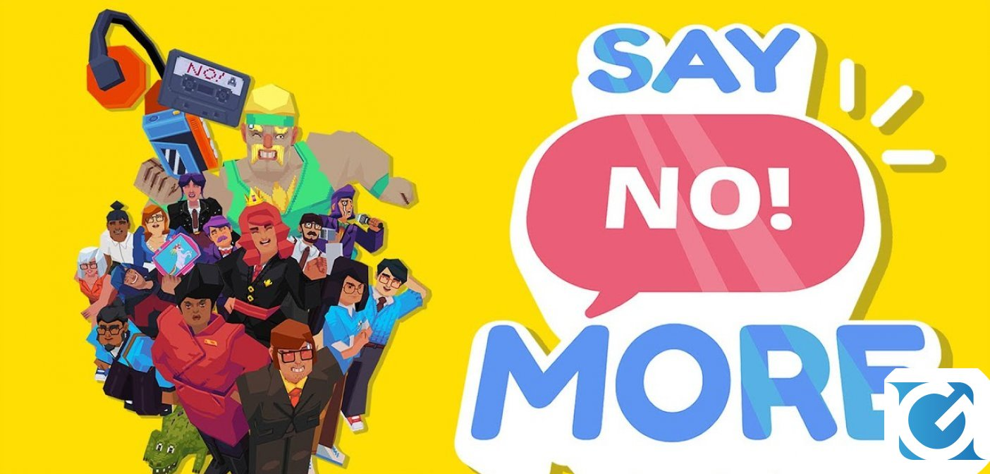 Say No! More è disponibile su PC, Nintendo Switch e iOS