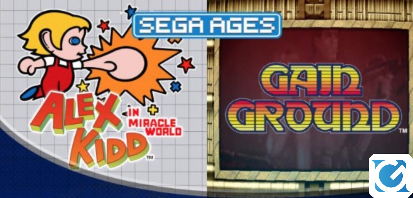 Alex Kidd in Miracle World e Gain Ground arrivano su Switch