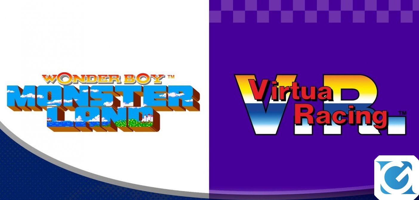 Virtua Racing e Wonder Boy: Monster disponibili su Switch