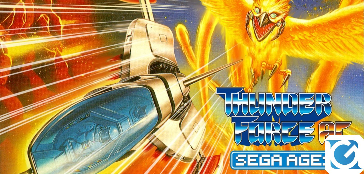 Sega Ages Thunder Force AC è disponibile su Nintendo Switch