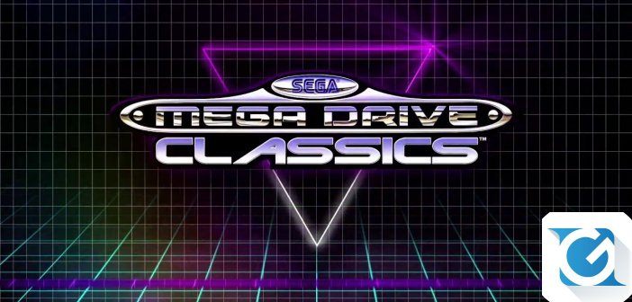 La SEGA Mega Drive Classic e' disponibile per XBOX One, Playstation 4 e PC