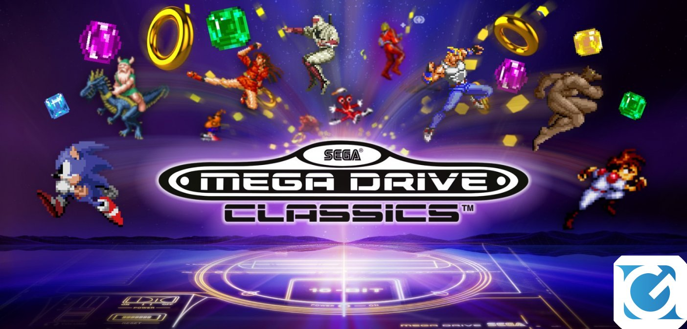 SEGA Mega Drive Classics disponibile da domani su Switch
