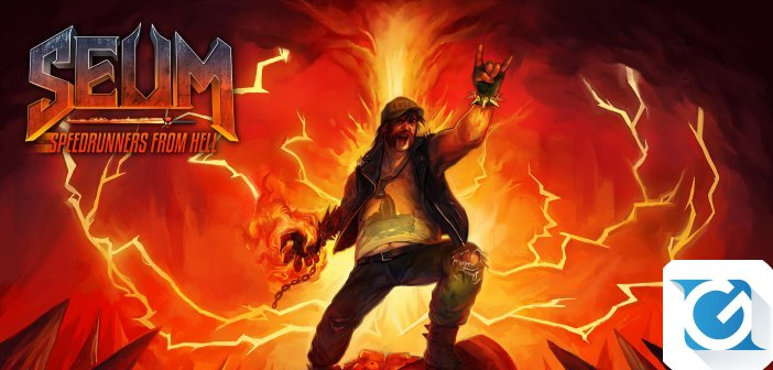 SEUM Speedrunners from Hell arriva anche su Playstation 4