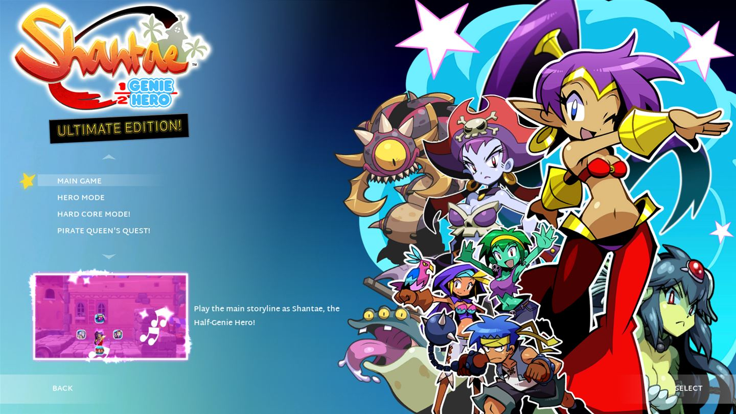 Shantae: Half-Genie Hero: Ultimate Edition