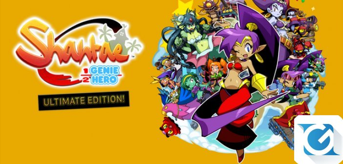 Shantae: Half Genie Hero Ultimate Edition e' disponibile!