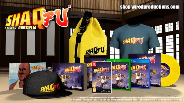 Shaq Fu Collector's Edition