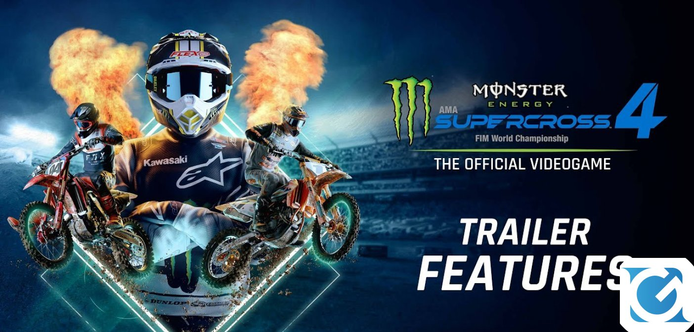 Si aprono i pre-order digitali per Monster Energy Supercross - The Official Videogame 4