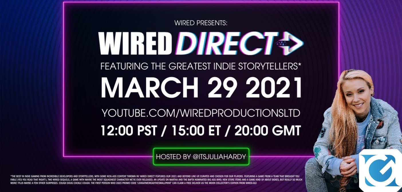 Siete pronti per il Wired Direct di stasera?