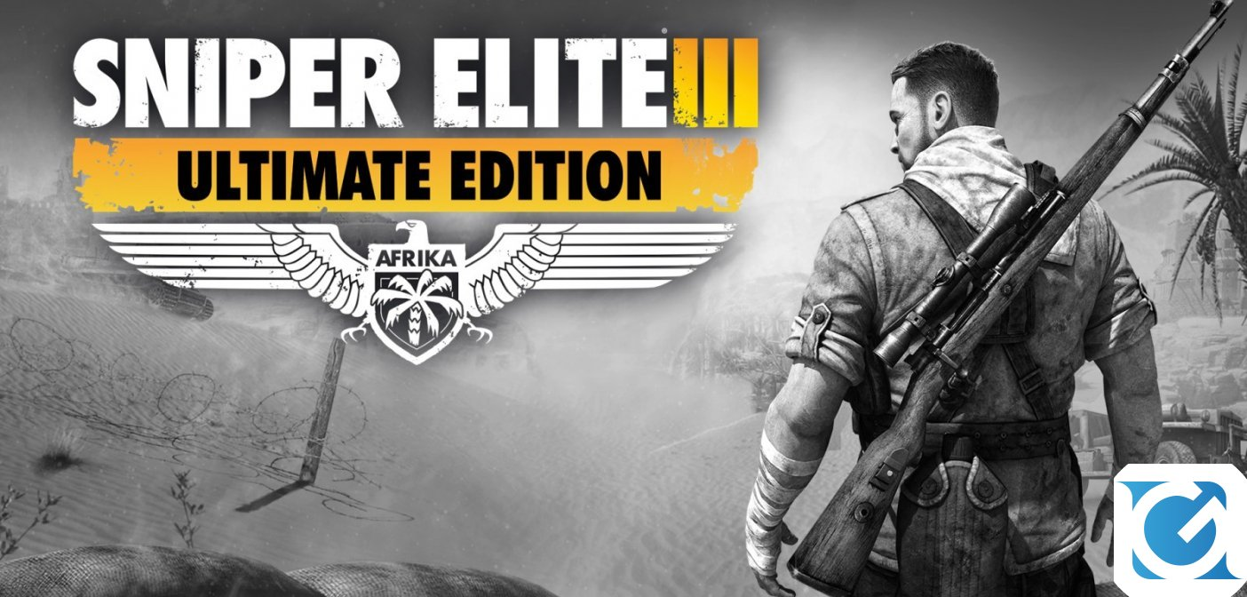 Sniper Elite 3 Ultimate Edition è disponibile per Switch