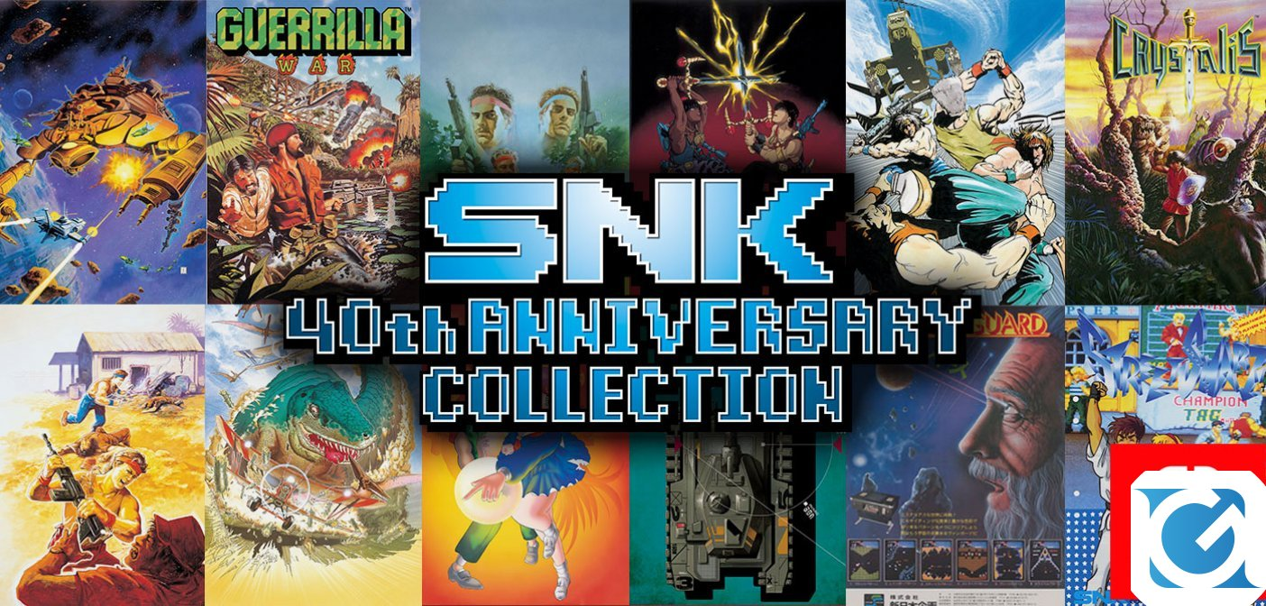 SNK 40th Anniversary Collection è disponibile per Switch