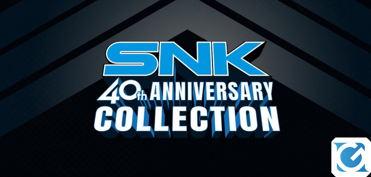 La SNK 40th ANNIVERSARY COLLECTION arriva a marzo su PS4
