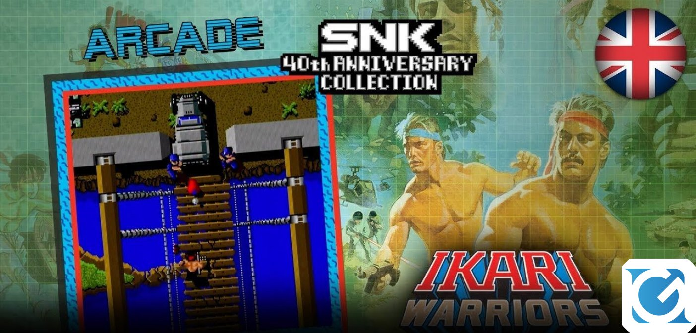La trilogia di Ikari è protagonista del nuovo trailer della SNK 40th Anniversary Collection