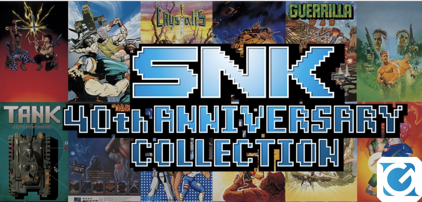 Nuovo video per la SNK 40th ANNIVERSARY COLLECTION