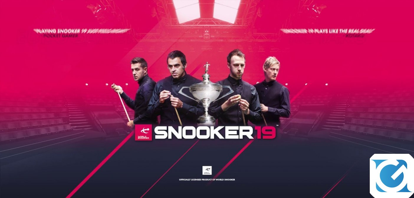 Snooker 19 è disponibile su Nintendo Switch