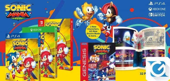 Sonic Mania Plus annunciato al SXSW durante il panel Sonic The Hedgehog