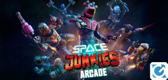 Ha inizio oggi l'open beta di Space Junkies