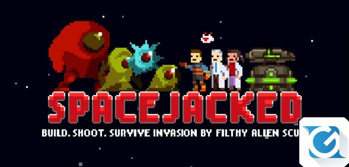 Spacejacked arriva su XBOX One e Nintendo Switch quest'anno!