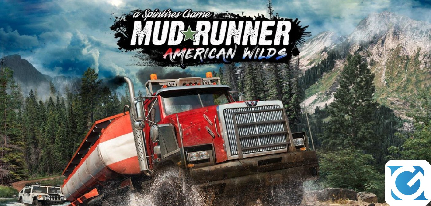 Spintires: MudRunner - American Wilds è ora disponibile su Nintendo Switch
