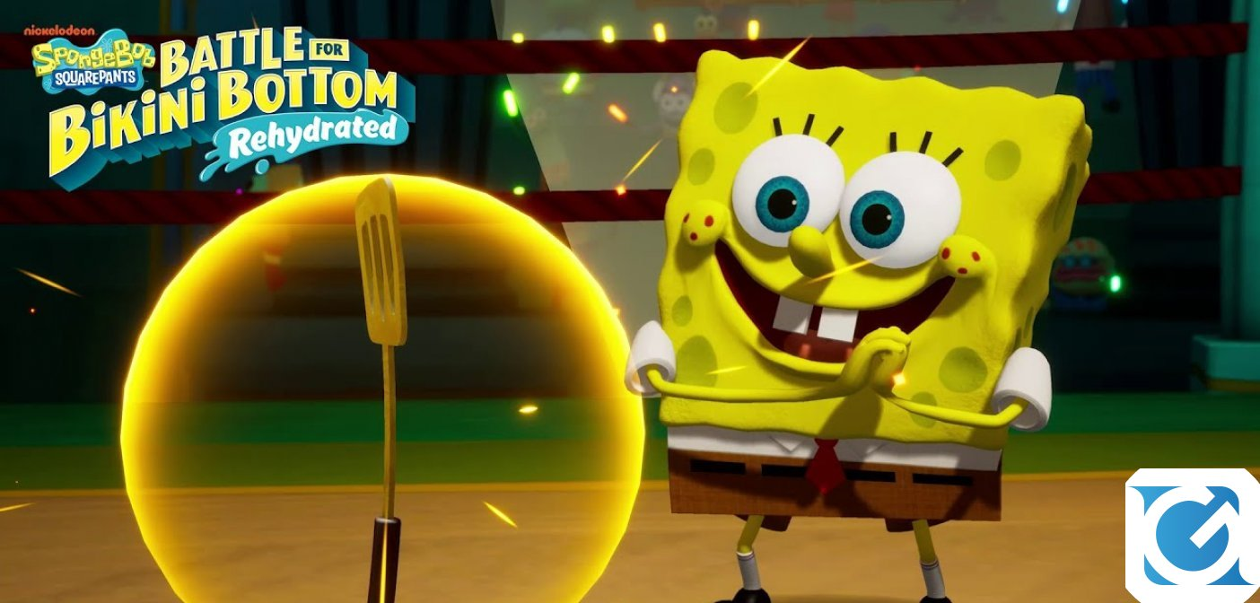 Spongebob Squarepants: Battle for Bikini Bottom – Rehydrated è disponibile per PC e console