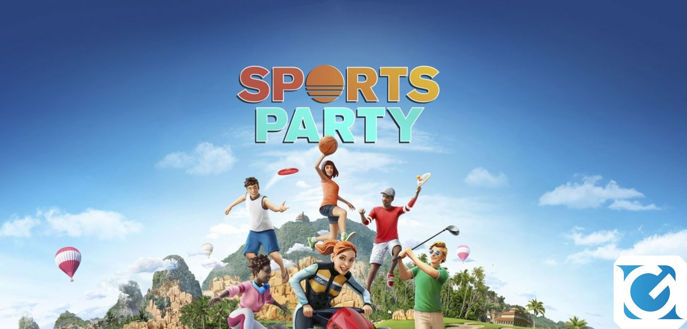 Sports Party arriva su Switch il 30 ottobre