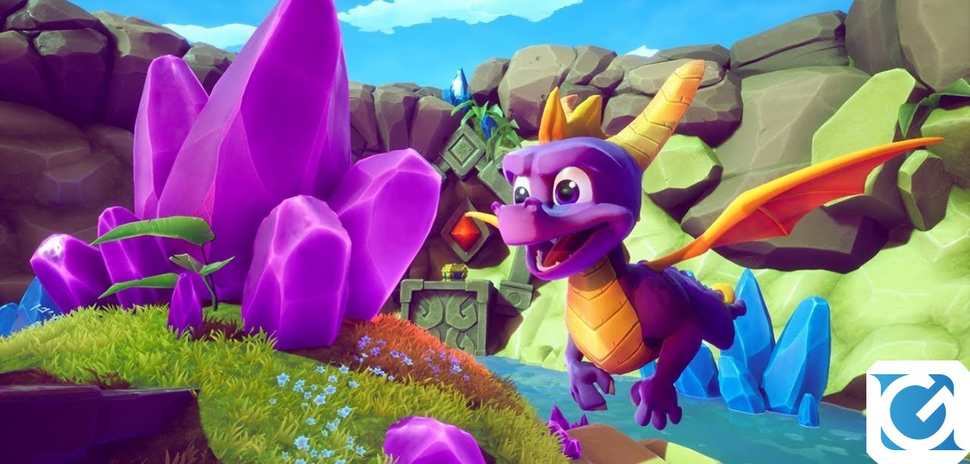 Spyro: Reignited Trilogy arriva su Switch e PC il 3 settembre