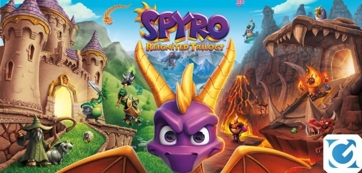 Recensione Spyro Reignited Trilogy per Nintendo Switch - Il draghetto vola anche su Switch