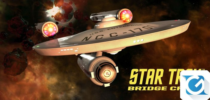 L'Enteprise sara' disponibile in Star Trek Bridge Crew