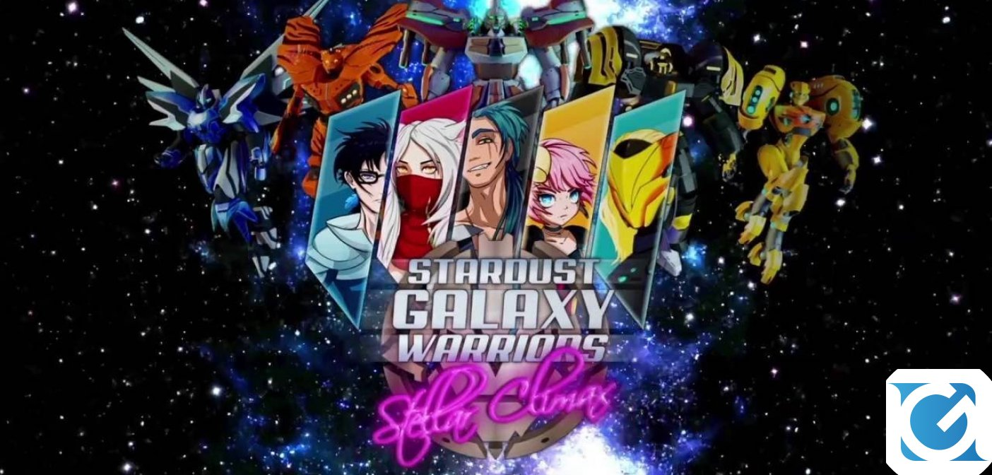 Stardust Galaxy Warriors arriva su Nintendo Switch