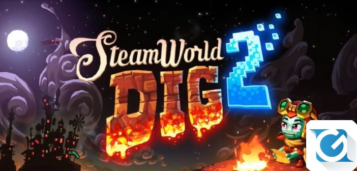 Steamworld Dig 2 sara' disponibile da domani su Nintendo 3DS