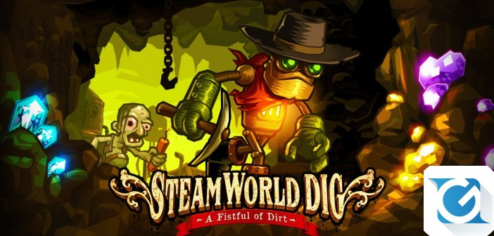 Steamworld Dig e' disponibile su Nintendo Switch