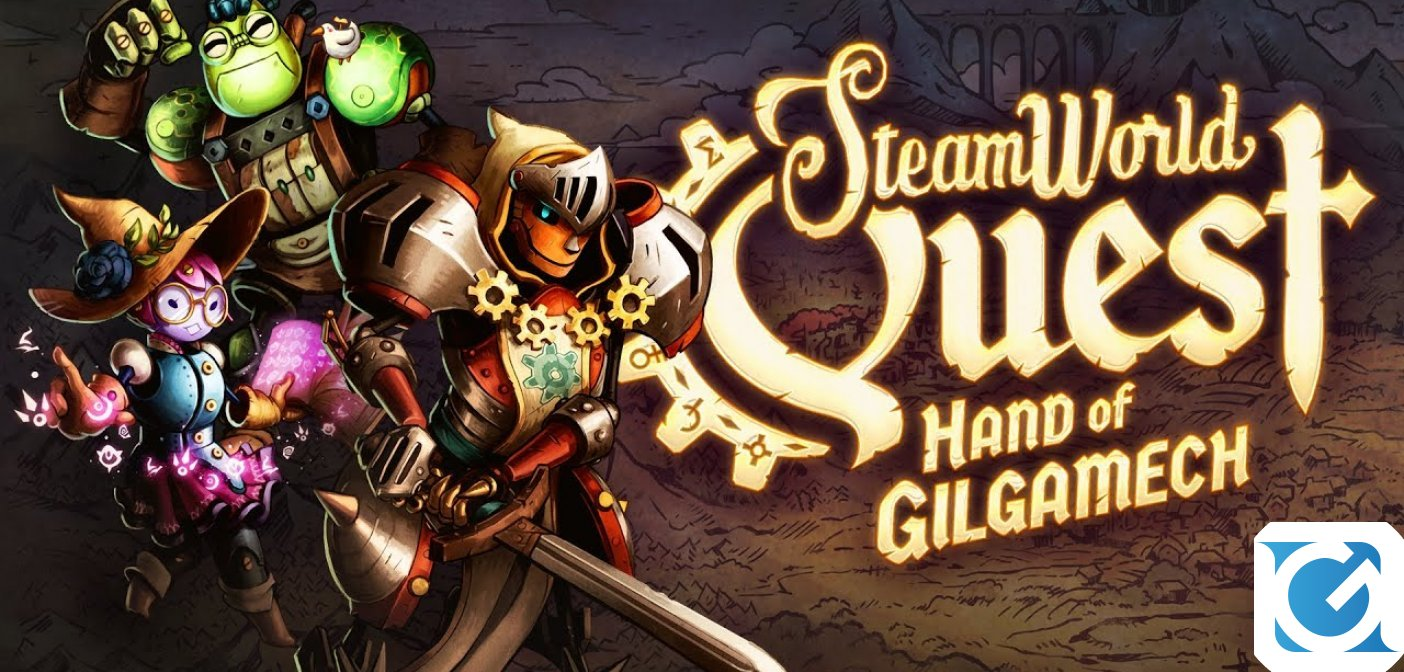 SteamWorld Quest: Hand of Gilgamech è disponibile su iOs