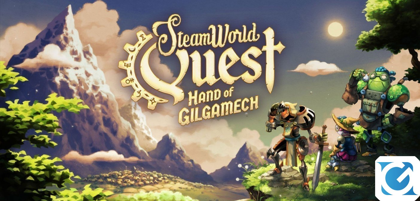 SteamWorld Quest: Hand of Gilgamech arriva su Switch il 25 aprile