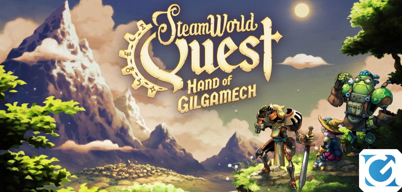 SteamWorld Quest: Hand of Gilgamech arriva su Switch a fine anno