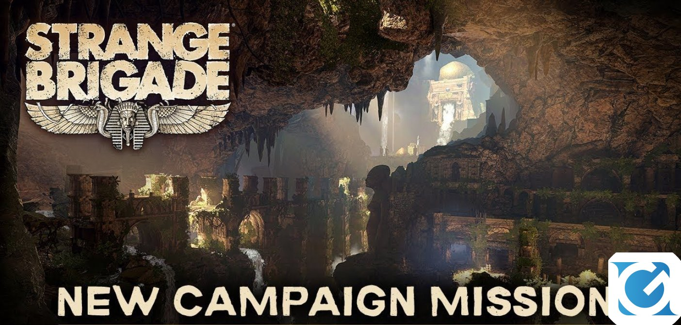 Disponibile The Thrice Damned 2: The Sunken Kingdom per Strange Brigade
