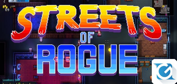 Streets of Rogue e' disponibile su Steam